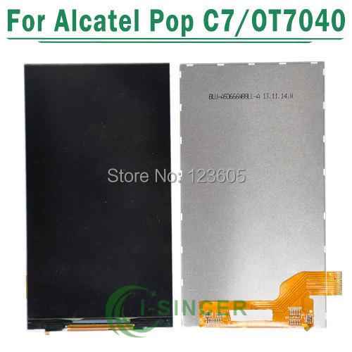 1 pcs pantalla lcd para alcatel one touch pop c7 7040 7040a 7041 ot7040