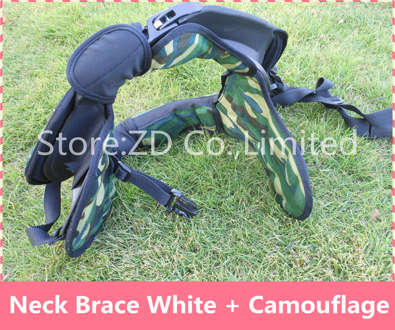 Black + Camouflage Motocross Neck Brace Guard Around Protection Protector For Riding Racing Bicycle Motorcycle 4 Size Together risk racing 00 110 black motocross grip donuts with blister protection
