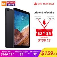 Original Xiaomi Mi Pad 4 PC Tablet 8 1920x1200 FHD Tablets Android 8.1 Snapdragon 660 Octa Core MiPad 4 13.0MP+5.0MP Cam Tablet