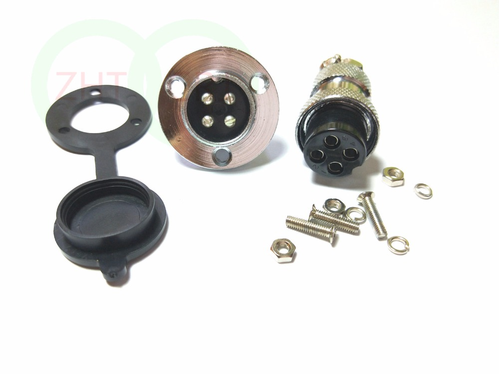 GX20 3-Pin Aviation plug Disc flange XLR Radio 19mm 20mm Panel mount waterproof