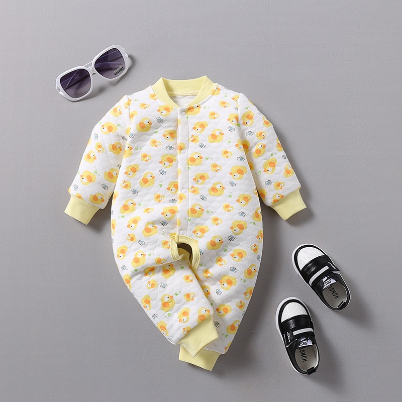 VTOM Hot Sale Newborn Baby Rompers Baby Long Sleeved Jumpsuits Infant Toddler Jumpsuits Baby Boys Girls Cotton Clothes DD34 2 in Rompers from Mother Kids