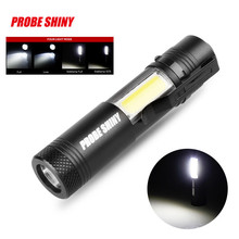 Super Bright XM-L Q5+COB LED 4 Mode 14500 Led Flashlight Torch wholesales 3000LM NOJ09