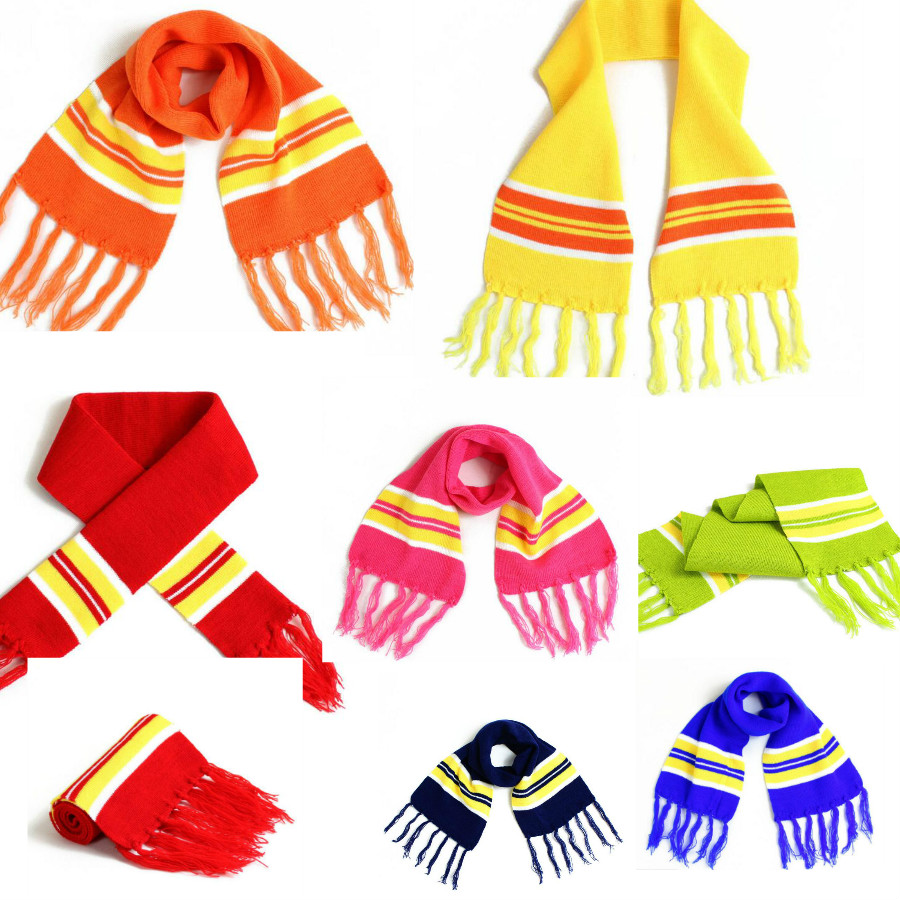 Hot Winter Spring Autumn Cotton Baby Scarf Children Girls Boys Kintted Wool O-Scarves Chidren Outing Protect Knit Solid Color