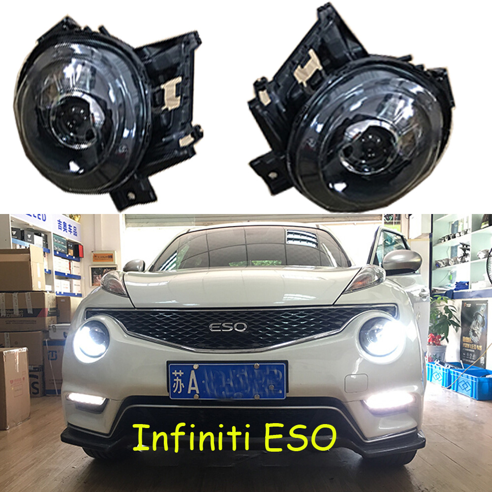 Infiniti headlight ESQ,Free ship!Infiniti fog light,Infiniti head light,ESQ,QX35,infiniti projector light цена