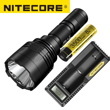 NEW Nitecore P30 Tactical Flashlight 1000 Lm CREE XP L HI LED Waterproof 18650 Outdoor Camping Hunting Portable Torch-in Portable Lighting Accessories from Lights & Lighting