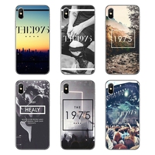 87eb29983ca Para Samsung Galaxy A5 A6 A7 A8 A9 J4 J5 J7 J8 2017 2018 Mais Nobre A 1975  Música Do Tumblr hipster Banda BRITÂNICA Shell Telefo.