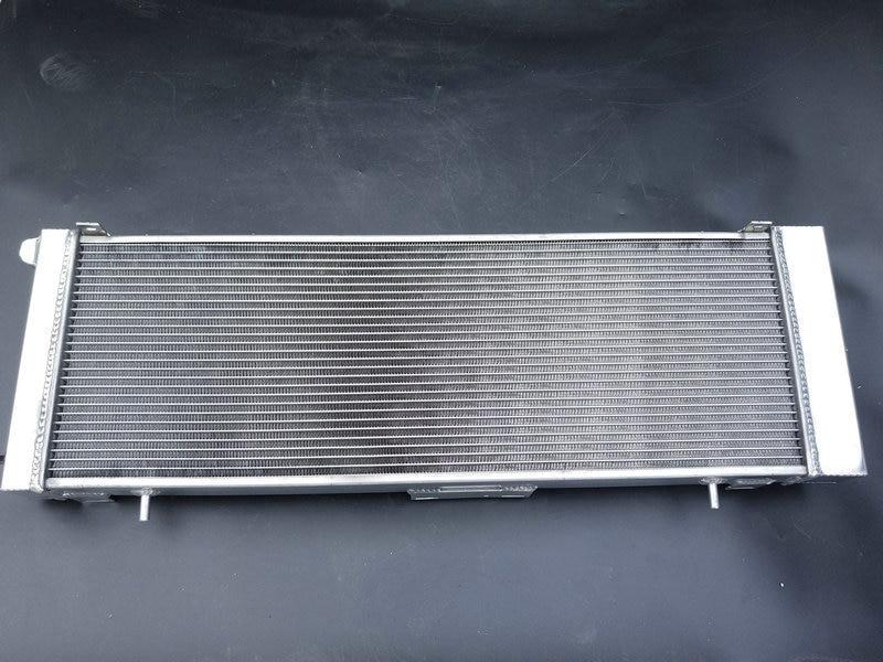 3 Row For JEEP Cherokee XJ 4.0 242 CID L6 1991-2001 Aluminum Radiator /& FAN*2