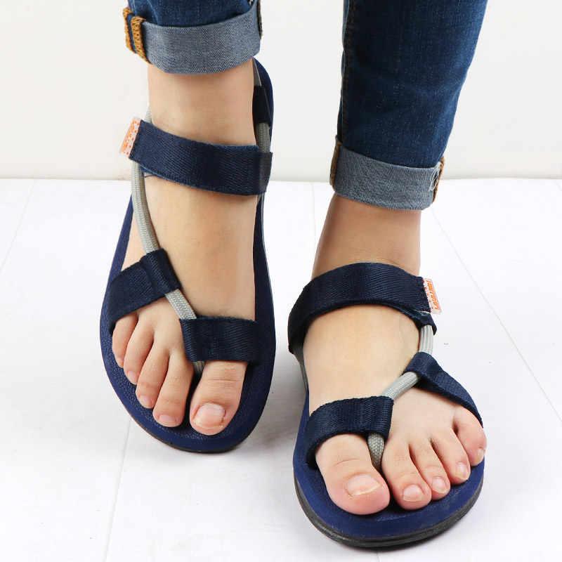 8461c35612e8 ... New Beach Shoes Sandals Men Roman Gladiator Sandals for Male Summer  Shoes Flip Flops Slip on ...