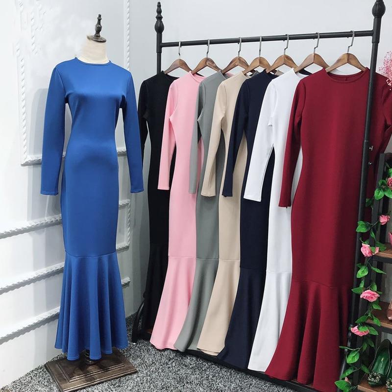 Vestidos Compridos Abaya Kaftan Dubai Arabic Muslim Dress Caftan Hijab Eid Dresses Ramadan Elbise Sukienki Robe Musulmane Longue