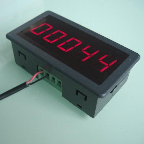 """Gratis verzending DC12V-24V 0.56 """"LED Digitale Display teller panel 0-99999"""