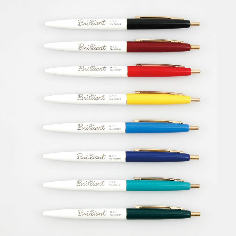 Japan Original Authentic HIGHTIDE PENCO FT049 Brilliant Ballpoint Pen 0.7mm Vintage Ballpoint Pen 1PCS