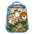 NICI Blue School Bags for Children Cartoon Animals 13inch 3D Printing Boys Girls Kids School Bag Holiday Gifts