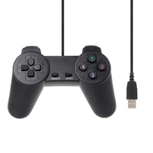 Brand High Quality USB 2.0 Gamepad Gaming Joystick Wired Game Controller For Laptop Computer PC usb 2 0 wired multimedia gamepad gaming joystick joypad wired game controller for laptop computer pc