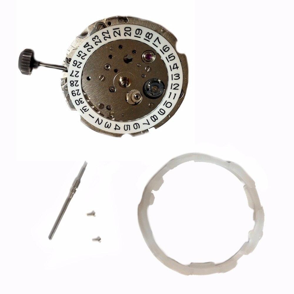 Miyota 8215 Meccanico Automatico 3 Mani Data 21 Gioielli Giappone Fatto Nuovo Originale MO1017A-in Orologi meccanici da Orologi da polso su  Gruppo 3