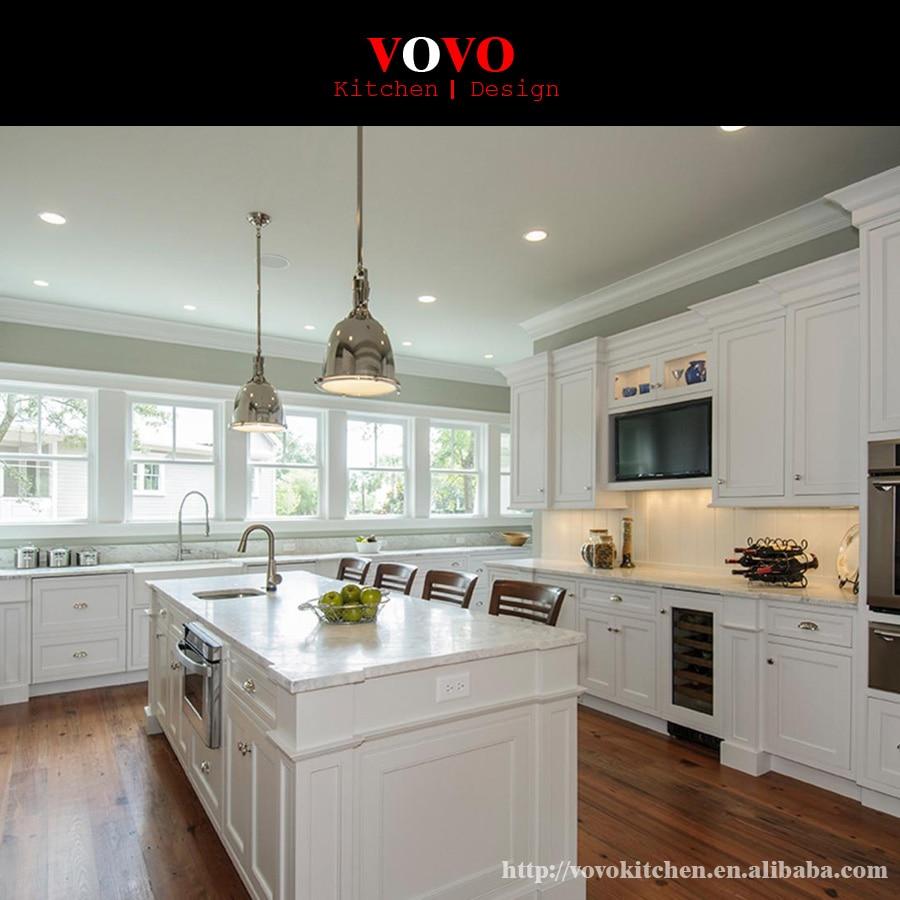 Modern Kitchen Furniture Shaker Style Solid Wood Kitchen