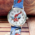 New Fashion 3D Cartoon Spiderman Child Watch Kids Watches Rubber Quartz Watch Gift Children Hour reloj montre relogio