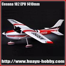 Самолет радиоуправляемый самолет Cessna 182-1410 мм EPO KITwith бесщеточный двигатель R/C Самолет радиоуправляемый самолет