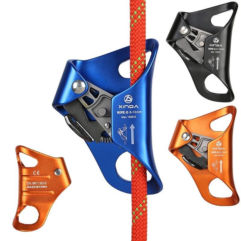 Corde de sécurité ascendante de coffre d'escalade de Camping en plein air Anti-chute de survie équipement d'escalade de corde verticale
