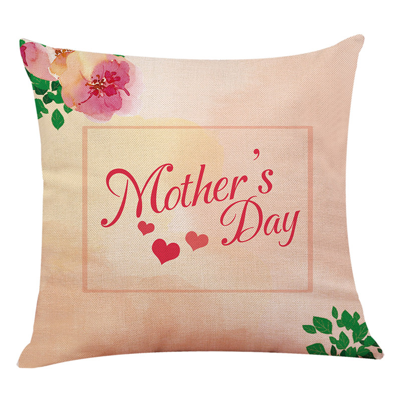 Mother's day Happy festival pillowcase Decorative home