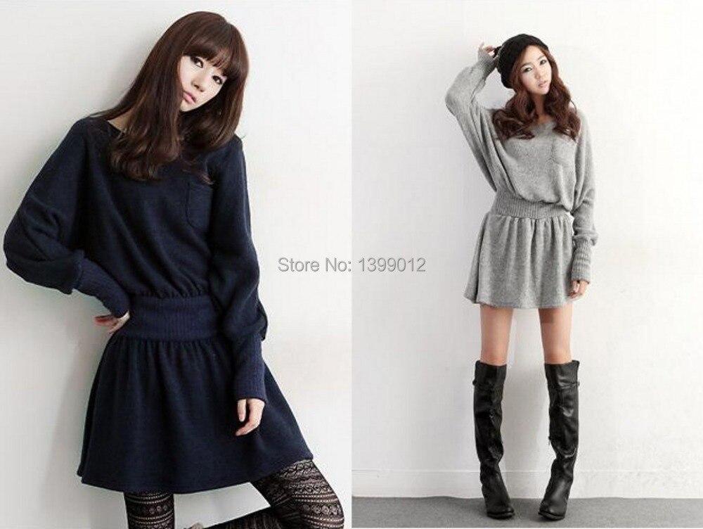 для женщин с длинным Recover платье-свитер бал платье