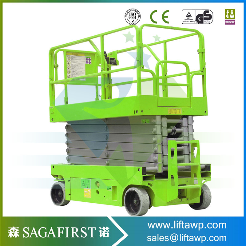 Self-Propelled Hydraulic Scissor Lift Work Table