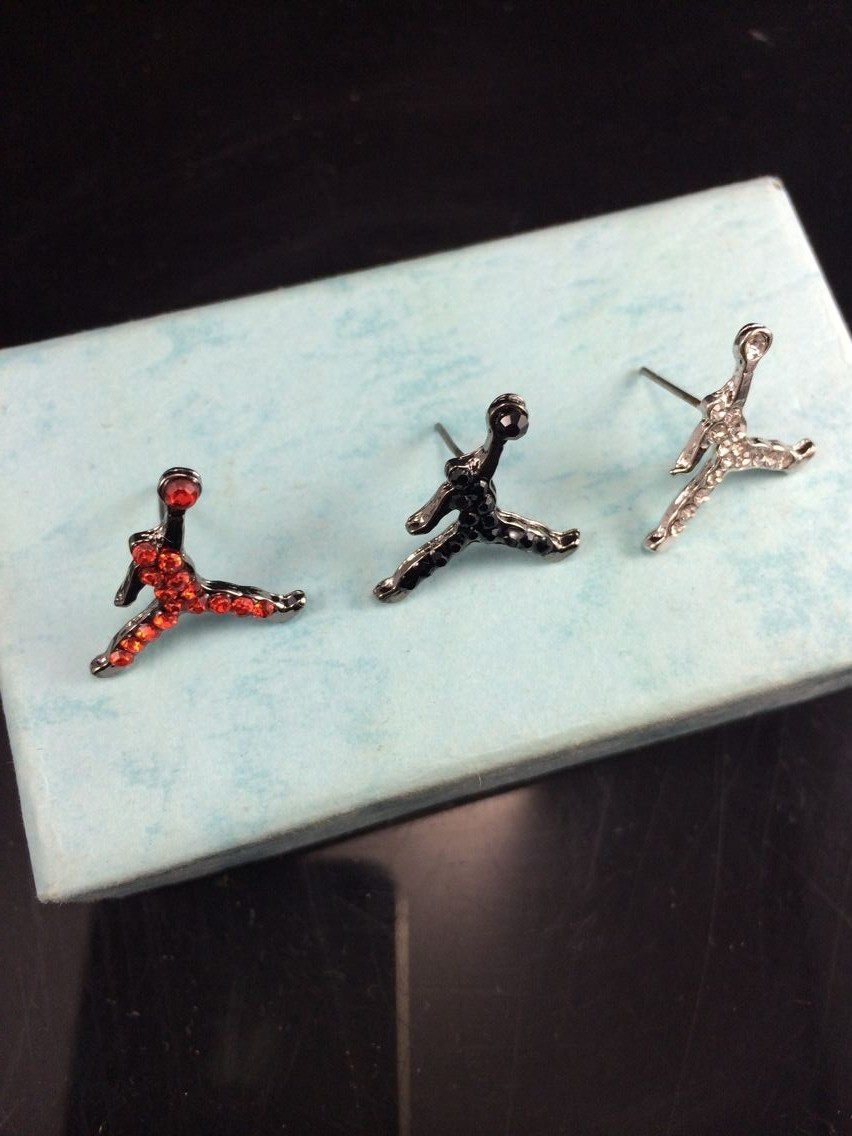 Earring Basketball Air Michael Jordan Slam Aliexpress Free  Shipping For 1 Pcs Fashion Jewelry