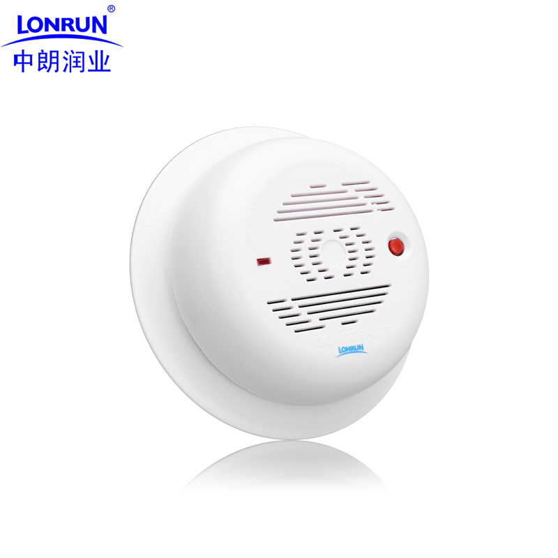 home wireless wifi smoke alarm fire fire smoke detectors independent sensor probe in smoke. Black Bedroom Furniture Sets. Home Design Ideas
