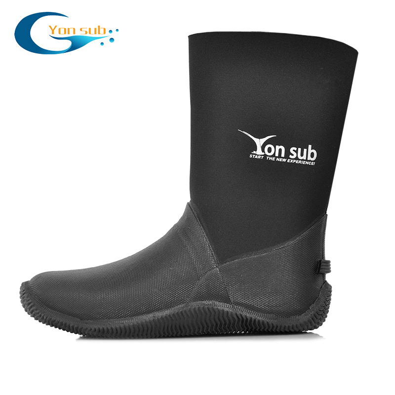 5MM Dry Vulcanized Rubber Diving Boots