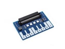 Moduł Mini fortepian dla mikro: nieco  klawisze dotykowe do odtwarzania muzyki  z 4x LEDy RGB