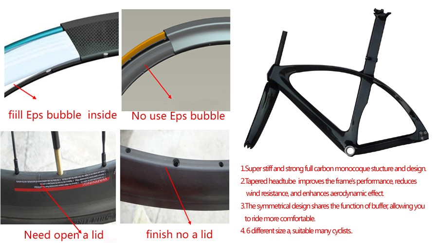 carbon bike wheels and frames technology