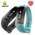 Makibes m2s banda coração taxa de pulso medidor de pressão arterial inteligente pulseira relógio de fitness smartband para ios android pk fitbits id107