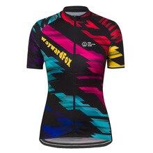 Женская командная велосипедная майка с коротким рукавом WaywardFox, одежда для велоспорта, одежда для гонок, одежда для велоспорта, полиэстер, дышащая