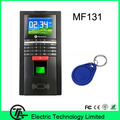 Biometric MF131 fingerprint and 13.56MHZ IC card access control and time attendance fingerprint time recording time clock