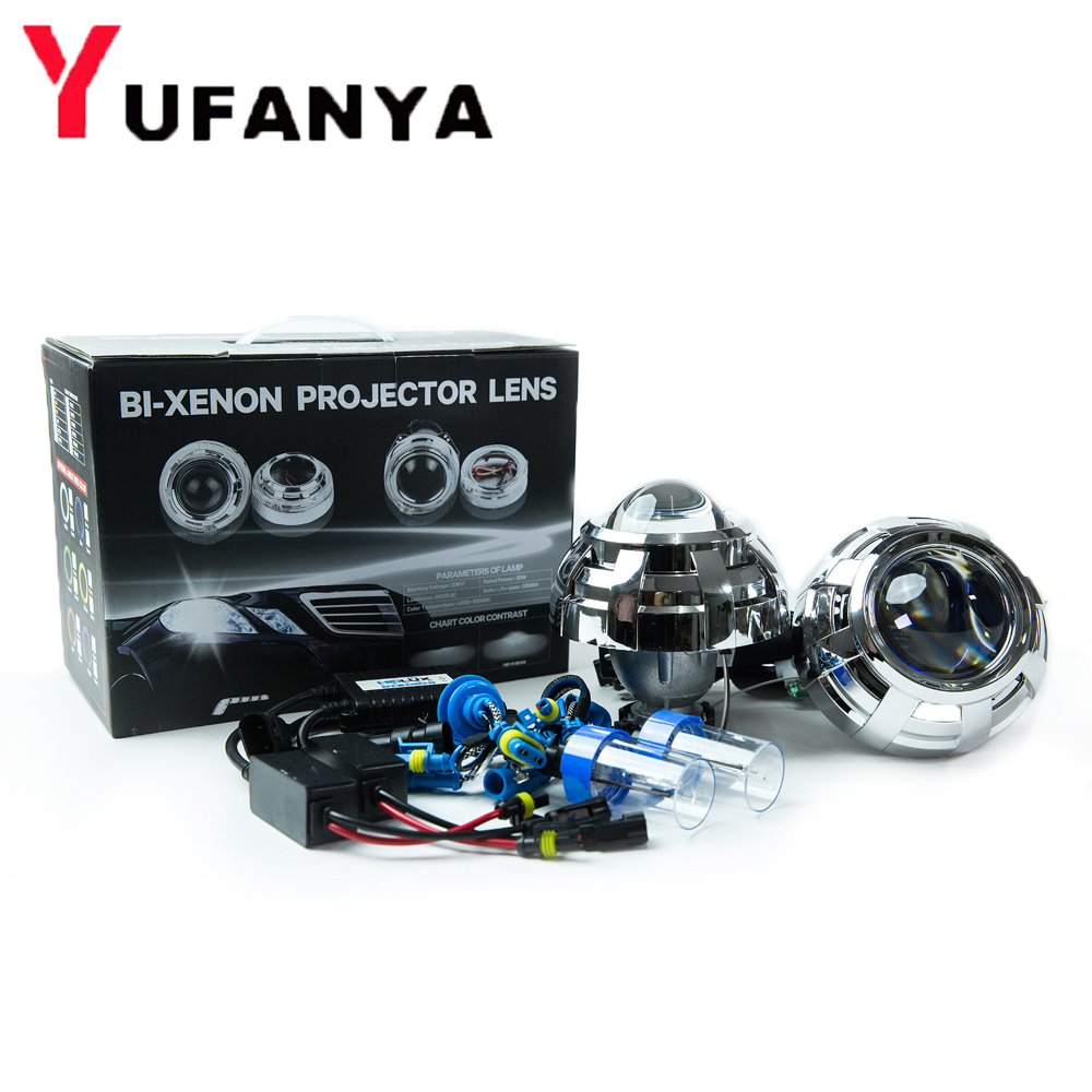 3.0 inch car styling bi xenon Projector Lens blue coating hella 5 with 55w d2h xenon kit for car headlight free shipping free shipping vland factory top value car auto parts for mitsubishis lancer headlight xenon projector headlamp
