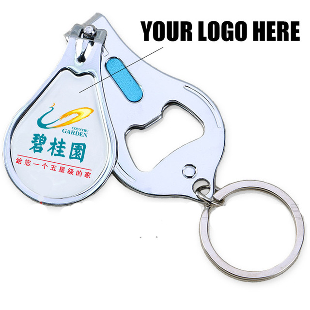 100pcs/lot Custom with Your Logo Multifunction Nail Clipper ...