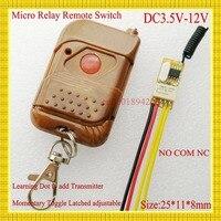 RKE Remote Keyless Entery DC 3 5V 12V 3 6V 3 7V 4 5V 5V 6V