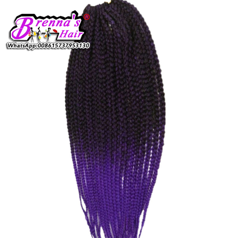 18 inch DHL&UPS Fast shipping synthetic crochet braids hair havana twist hair extensions synthetic box braids hair