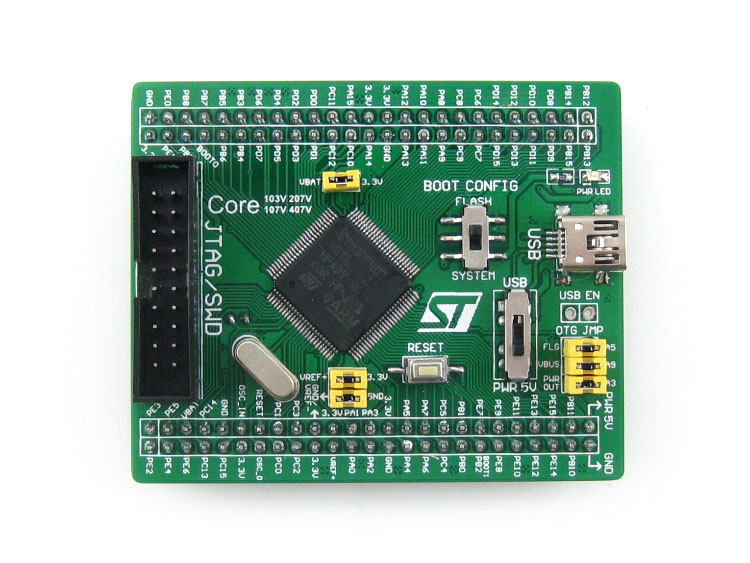 Core 407V STM32F407VET6 NRF2401 Interface Development Mainboard Module Kit