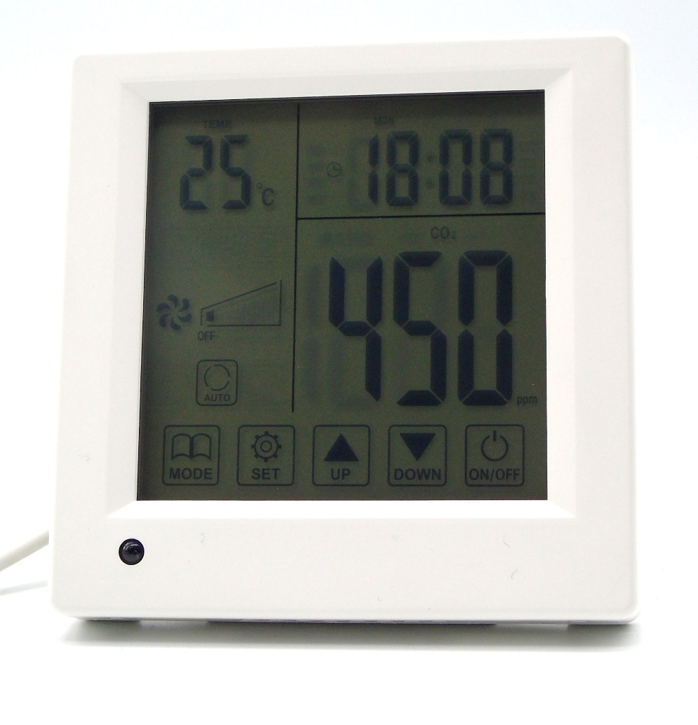 ФОТО Time Programming air quality monitor co2  with Controller Three-speed ventilator