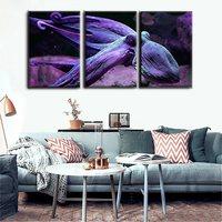 Christmas Decor Gift 3 Panels Octopus Animal Painting Print Canvas Fashion Artwork for Modern Home Decoration Wall Art Drop Ship