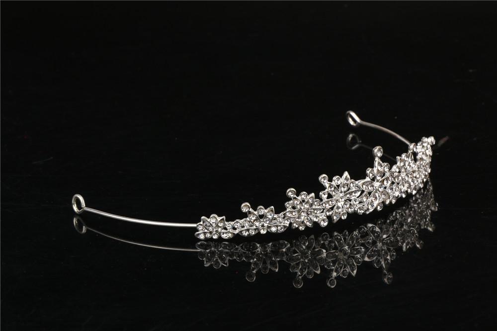 3 Designs Fashion Crystal Wedding Bridal Tiara Crown For Women Prom Diadem Hair Ornaments Wedding Bride hair Jewelry accessories 2