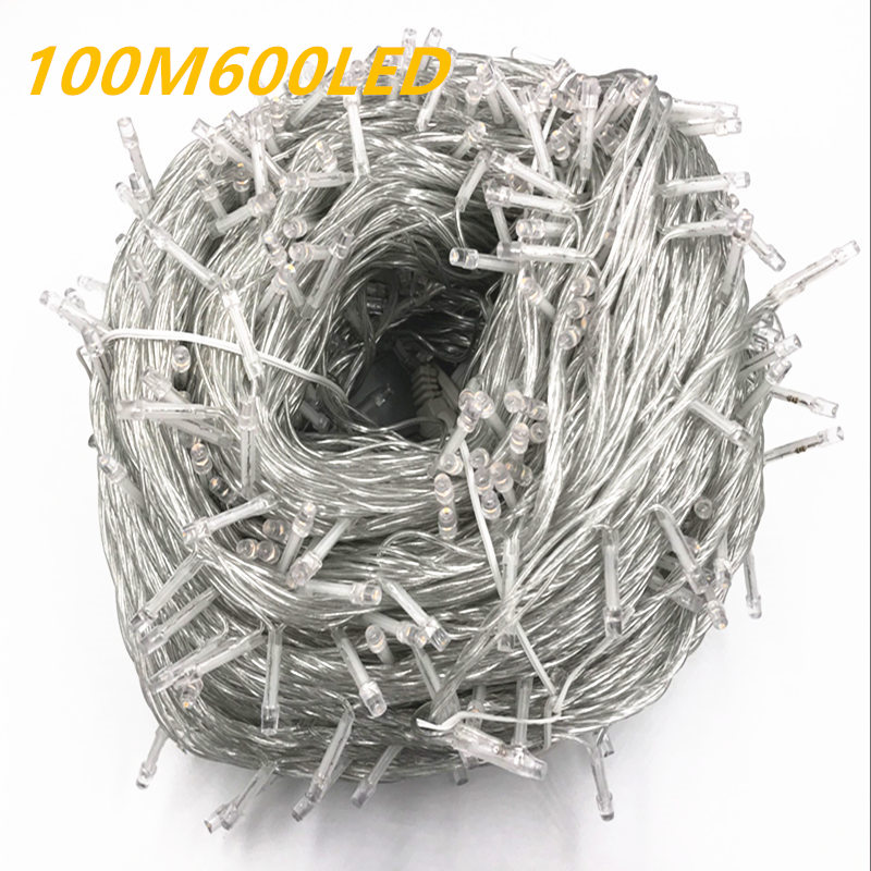 Novelty 600 leds 100M flasher string Lighting for outdoor/ indoor Wedding Party christmas tree Twinkle Fairy decoration Lights 4