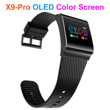 X9 Pro Color OLED Screen Smart Bracelet For Android IOS 8.0 Bluetooth 4.0 APP Moible Phone Smart Wristband Waterproof Heart rate