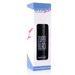 large bottle ZUPER BLACK Tattoo Ink 12oz (360ml)