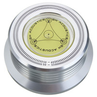 모든 알루미늄 LP 기록 디스크 안정제 무게 비닐 레코드 턴테이블 하이파이 액세서리 테스트 속도 기능