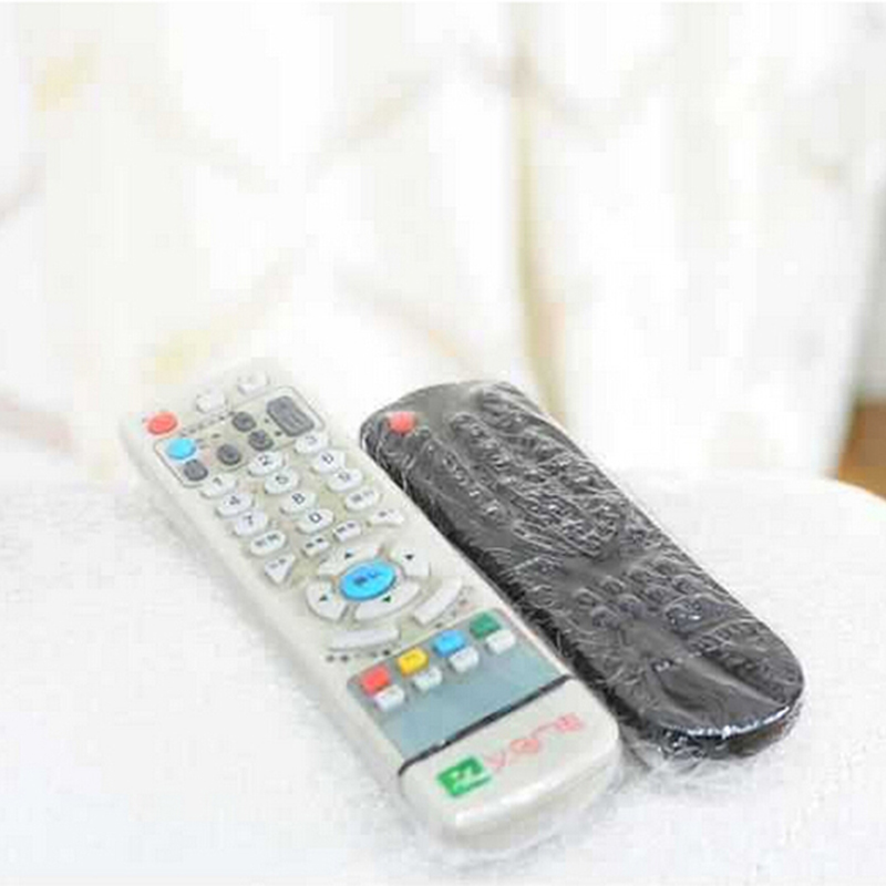 10PCS Dust Proof Waterproof Remote Control Protector Cover Heat Shrink Protective Film TV Air-Conditioner Video Storage Bags