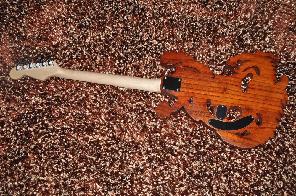 Ben noto 6 corde chitarra elettrica chitarra Personalizzata Intagliato in  AK82