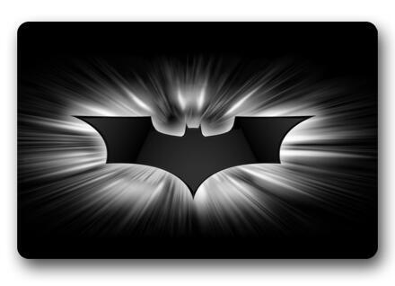 Custom Batman Logo Doormat Batman Carpet Dark Knight Mats Bedroom