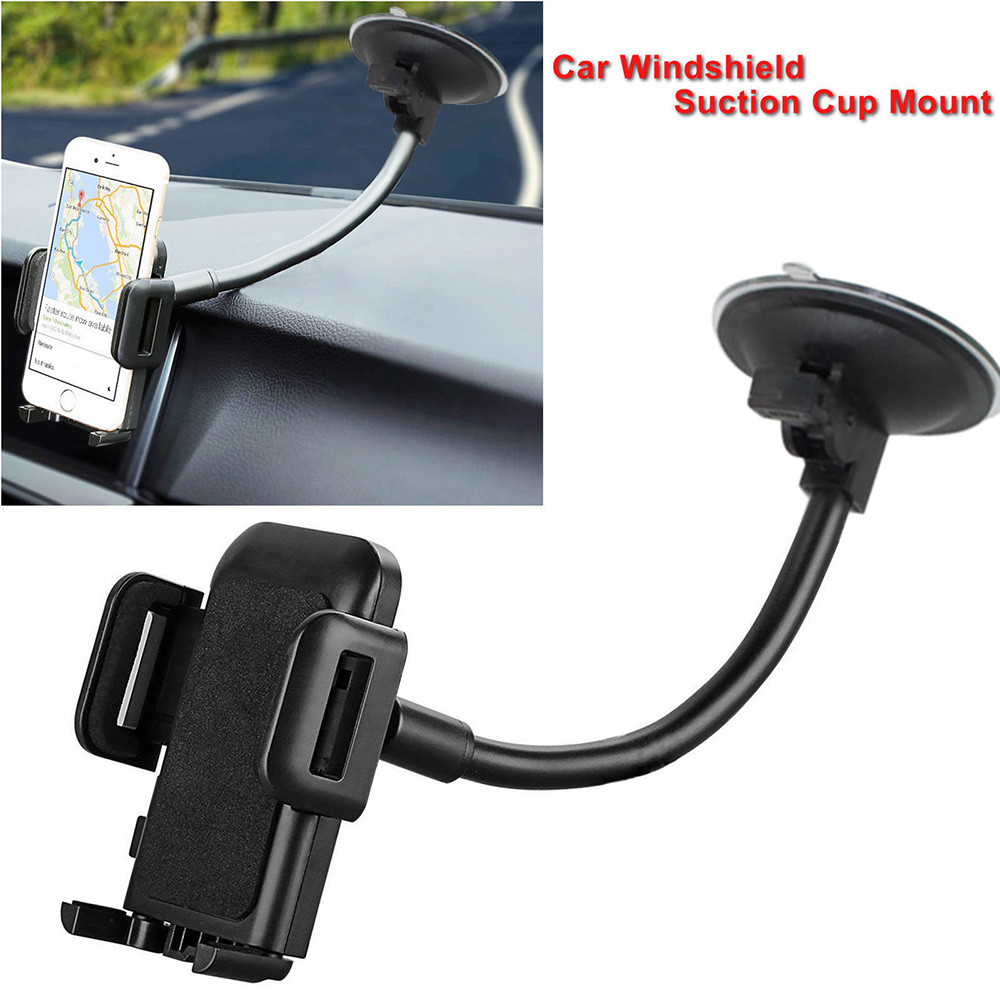 universal car windshield dashboard suction cup mount