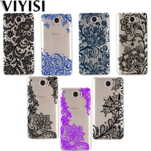 VIYISI Mandala For Huawei Mate 9 10 lite case Pro P8 P9 P10 Lite Phone Case Nova2 P10 Plus Honor 9 6A Y5 2017 Y6 II Pro Y7 Lace for huawei p9 p10 lite case embossed rattan wallet flip case for huawei p9 lite mini enjoy 7 y6 pro 2017 for y7 honor 7x 9 lite